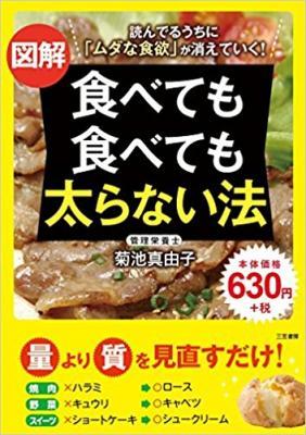 『図解 食べても食べても太らない法』 焼7肉、ラーメン、ビール、スイーツ「やせたいからこそ、食べる」