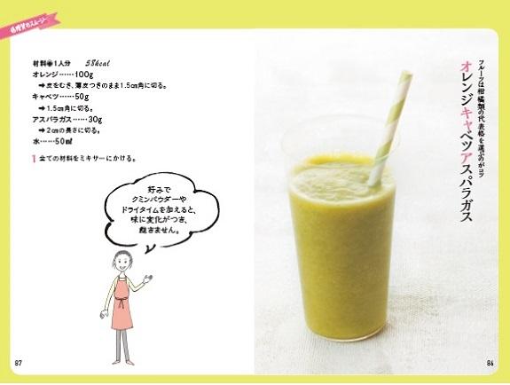 糖質の少ない野菜を中心に。フルーツは、同じく糖質の少ないかんきつ類を使うのがポイント!