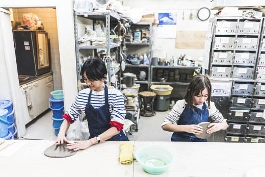 住む街を観光してみる「こありっぷ」では、飯田橋での陶芸体験を