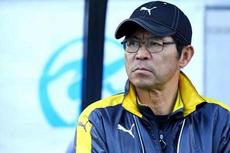 ▲ 就任36年目でついに日本一を勝ち取った山田監督。年末年始に行われる全国高校サッカー選手権で、大会2連覇を目指す