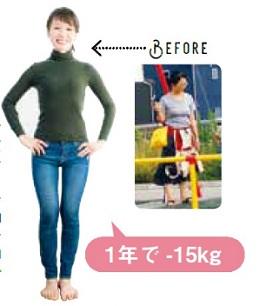 産後太りを、糖質オフの食事で解消し、1年で15kg減! ダイエットブロガー・MONAさん