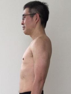 2017年。18kg減って健康的にスリムに。