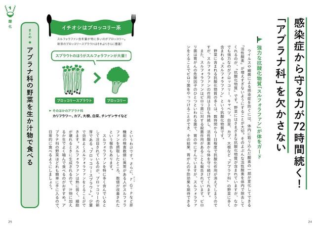 ブロッコリーに含まれる抗酸化物質は「アブラナ科」の野菜に共通する特徴だったとわかれば、野菜選びの幅も広がります。