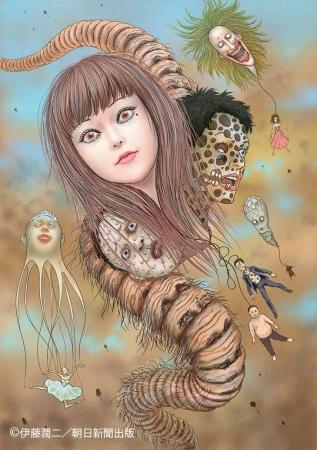 伊藤潤二さん画業30年記念!作品のアニメ化決定 「夏の伊藤潤二フェア2017」も