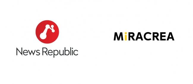 投稿サイトMiRACREA(ミラクリエ)が、総合ニュースアプリ「News Republic」と提携