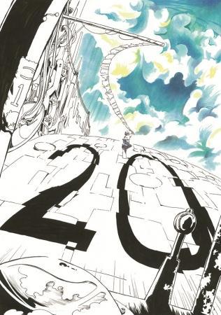 第20回にいがたマンガ大賞が作品を募集 有名編集者や漫画家が審査 最終審査は『パタリロ!』の魔夜峰央さん 〔画像〕昨年大賞を受賞した今田彩夏さんによるイラスト