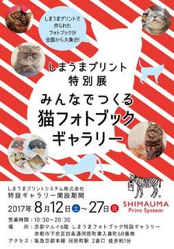 全国から1,000冊以上の猫フォトブックが集結「みんなでつくる猫フォトブック展」京都で8/27まで