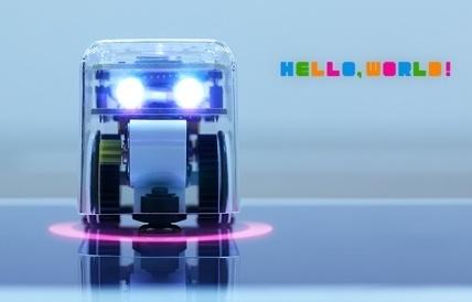 世界初!完成品のロボットが学習雑誌『小学8年生』の付録に!手のひらサイズの小型エデュケーション・ロボット「TABO8」