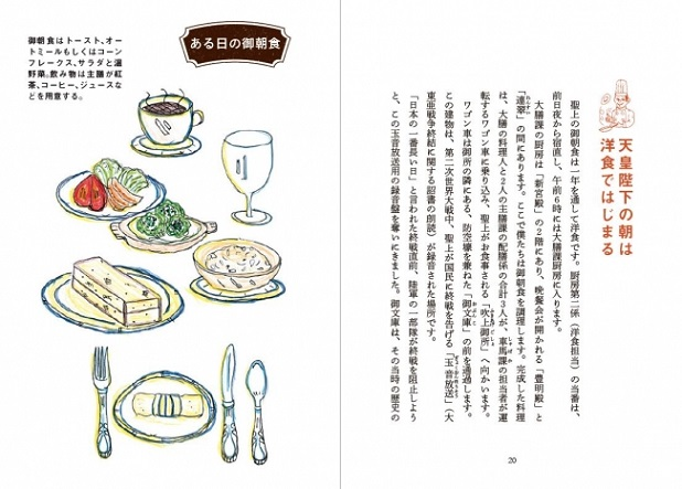 天皇陛下の朝食/本書より