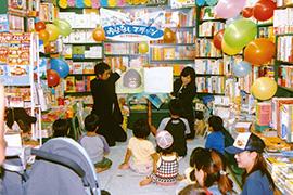 「おはなしマラソン」読み聞かせキャンペーン 秋の「読書週間」に合わせて全国80書店で開催
