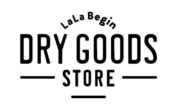 「LaLaBegin DRY GOODS STORE (ララビギン ドライグッズストア) 」ロゴ