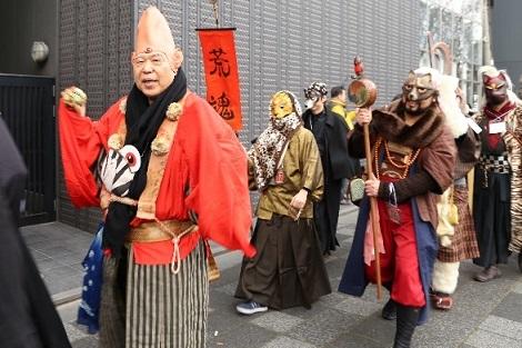 昨年の節分お化け☆百鬼夜行のパレード (c)京都国際マンガミュージアム