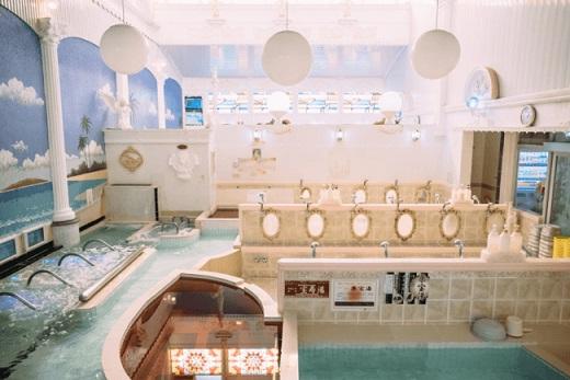 銭湯界のエデン クアパレス(習志野)