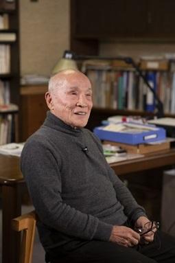 谷川俊太郎さん 撮影:川しまゆうこさん