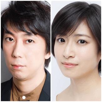 小川和也さん(左)と南沢奈央さん(右)