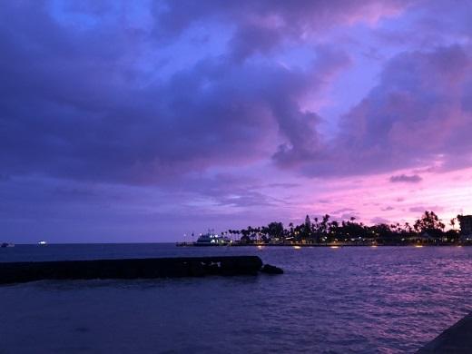アメリカ・ハワイ島のマジックアワー