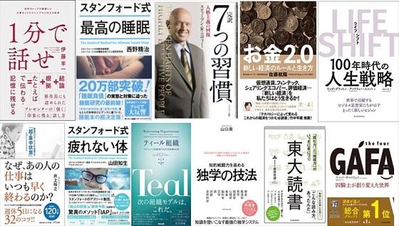 平成のヒット書籍11冊を一同に、書店で要約「立ち読み」
