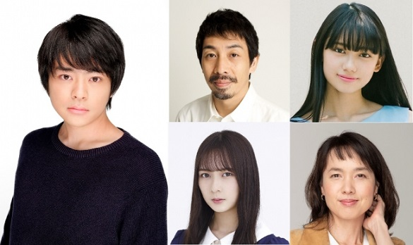左上から)今井悠貴さん 柳憂怜さん 黒崎レイナさん 鈴木絢音さん(乃木坂46) いしのようこさん