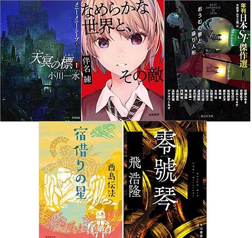 「第40回日本SF大賞」最終候補作が決定