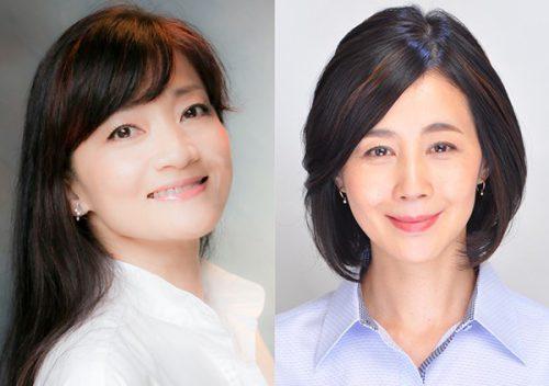 (左)島田歌穂さん/(右)村岡恵理さん