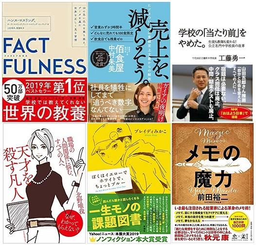 「読者が選ぶビジネス書グランプリ2020」が決定!