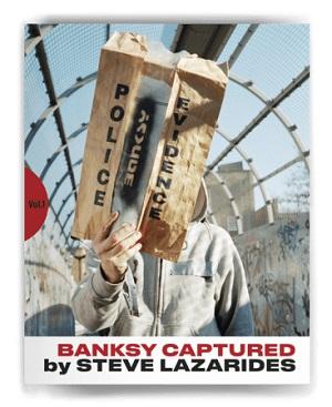 覆面アーティスト・バンクシー本人をとらえた作品集『BANKSY CAPTURED』日本で発売へ