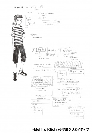 中身紹介(2) 豊富な設定資料