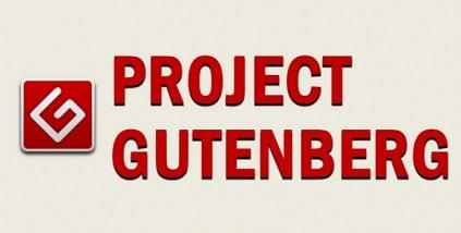 Project Gutenbergは、著作権の切れた文学作品を収録している、いわば海外版青空文庫です。