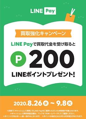 LINEポイント200ポイントプレゼントキャンペーン