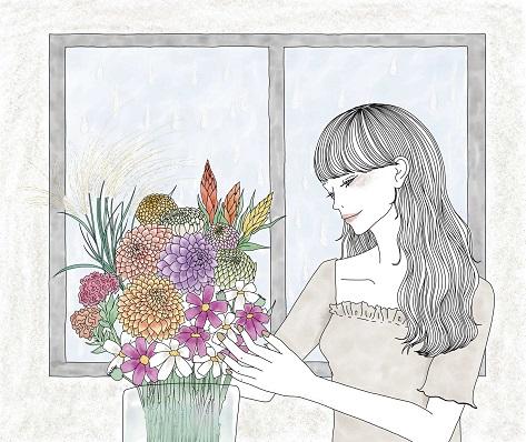 夏生さえりさん×Shihoさんがット短編小説「雨のち花」を5週連続配信
