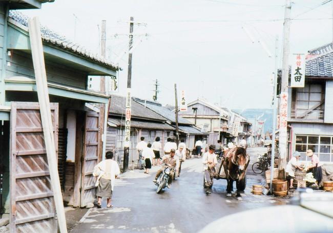 高知 (c)光文社/新書『秘蔵カラー写真で味わう60年前の東京・日本』/J・ウォーリー・ヒギンズ