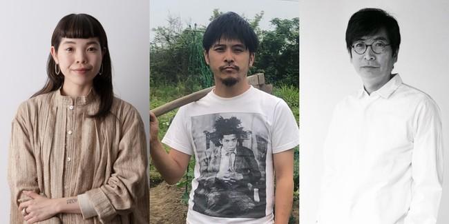 左から、山井梨沙さん、坂口恭平さん、松原 亨さん