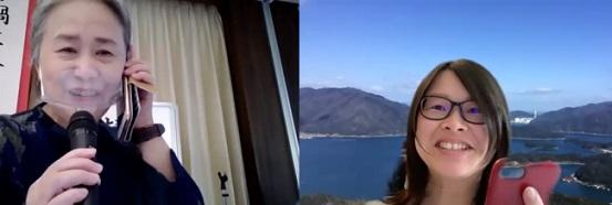 夏井さんとリモートで会話する寝室部門 最優秀賞 青海也緒さん