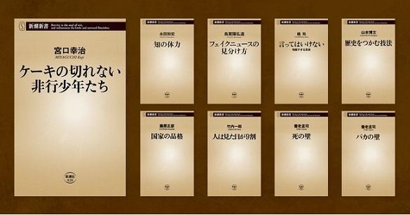 「新潮新書」オーディオブック版シリーズが配信スタート