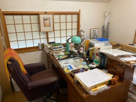半藤さんの書斎