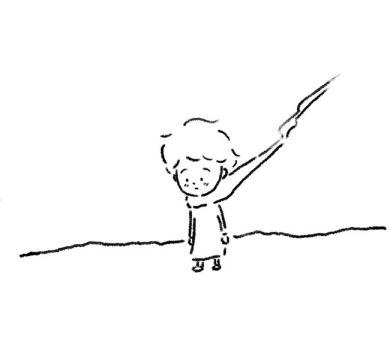 「王子さま」絵:矢部太郎
