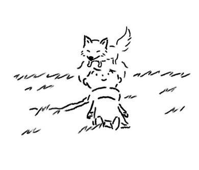 「キツネと王子さま」絵:矢部太郎