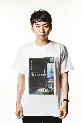 オリジナルTシャツ着用の羽田圭介さん