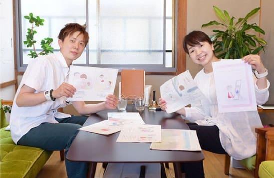 左・竹紫春翔さん、右・絵本作家Haijiさん